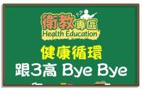 【衛教】健康循環,跟3高說Bye Bye